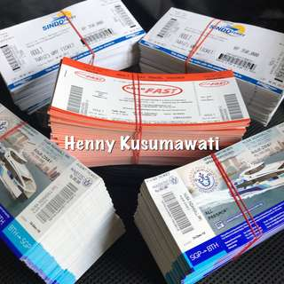 Batam Ferry Tickets Two Way TAX INCLUDED OPEN TICKETS