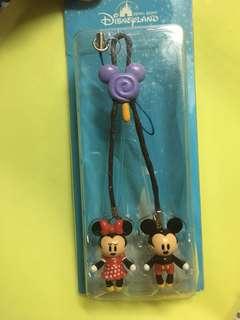 迪士尼Disney 米奇美妮手機繩