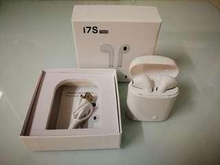 I7s TWS藍牙耳機(靚聲) 100%全新~~iphone以及安卓手機岩用