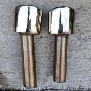 雙出尾不鏽鋼段飾管