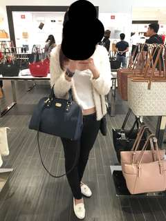 Authentic Michael Kors satchel bag