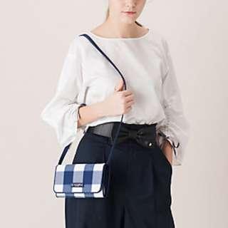 Japan Blue Label PVC Bag Wallet