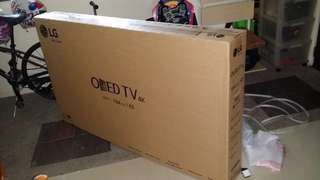 Box for 65inch LG TV with Styrofoam