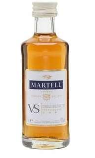 馬爹利vs干邑酒辦50mI一支。