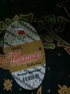 Dress Batik Mawar