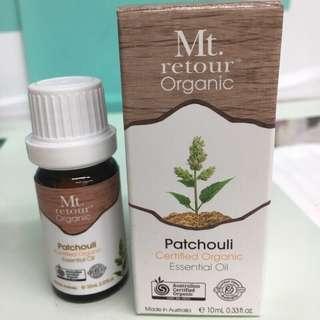 🚚 澳洲 Mt.retour Patchouli 有機廣藿香單方精油