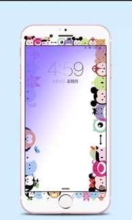 Tsum tsum iphone 7plus screen protector full