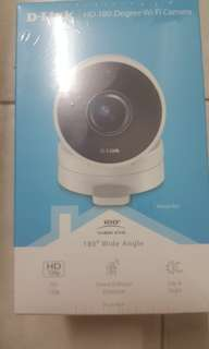 BRAND NEW D-LINK DCS-2T30L FULL HD 180 WIDE ANGLE WI-FI CAMERA