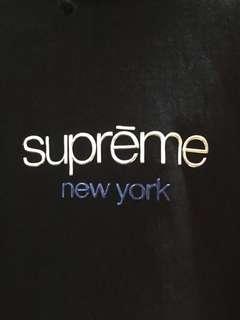2016 F/W Supreme Classic Logo Hoody