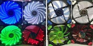 Kingbao LED spiral 120mm fan
