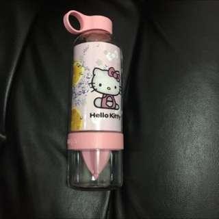 🚚 全新限時清貨Holle Kitty 粉色檸檬水杯隨身杯