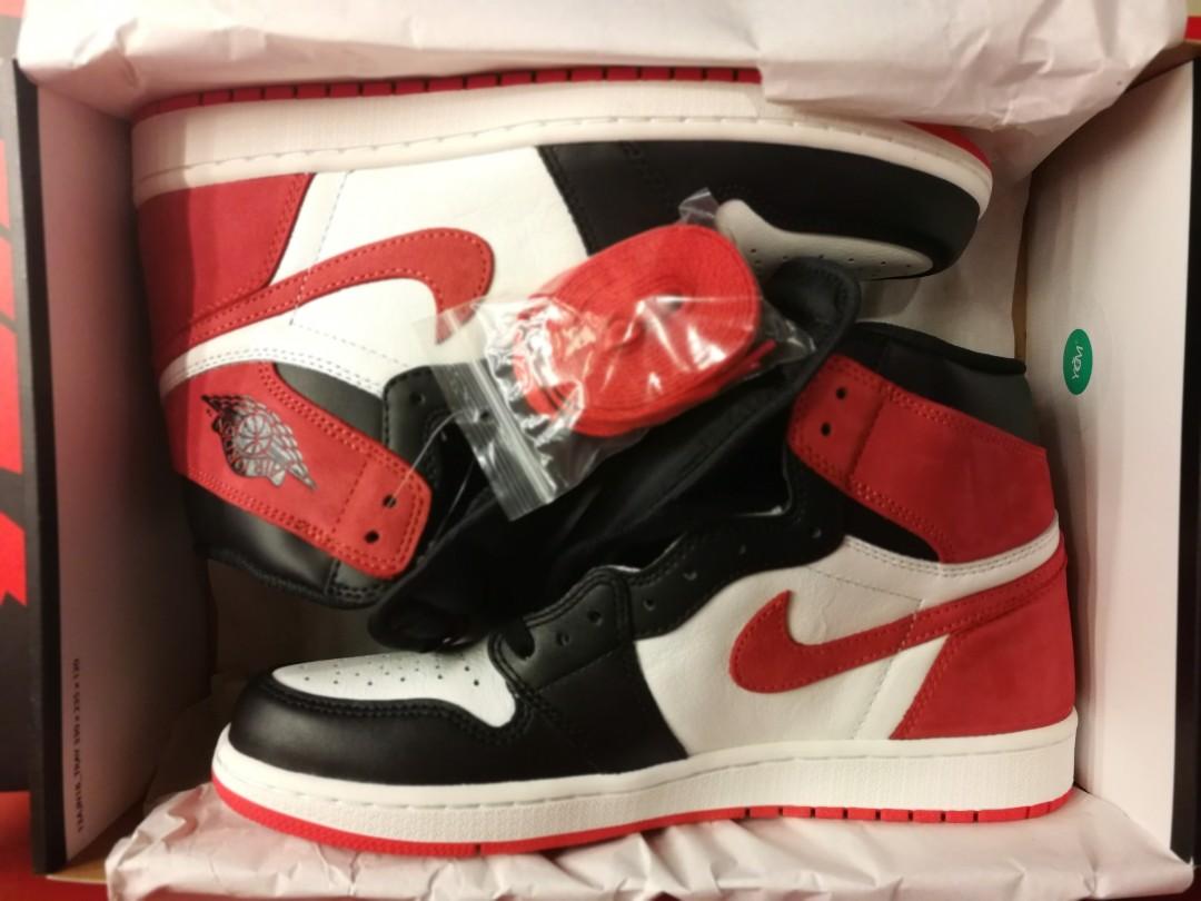 Air Jordan 1 Track Red US10 Six Championships Rings DS BNIB 359b2334e
