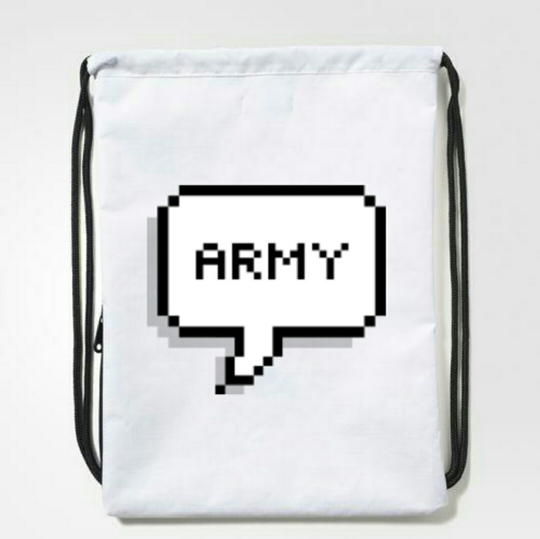 d3a422f8cd ARMY Drawstring Bag