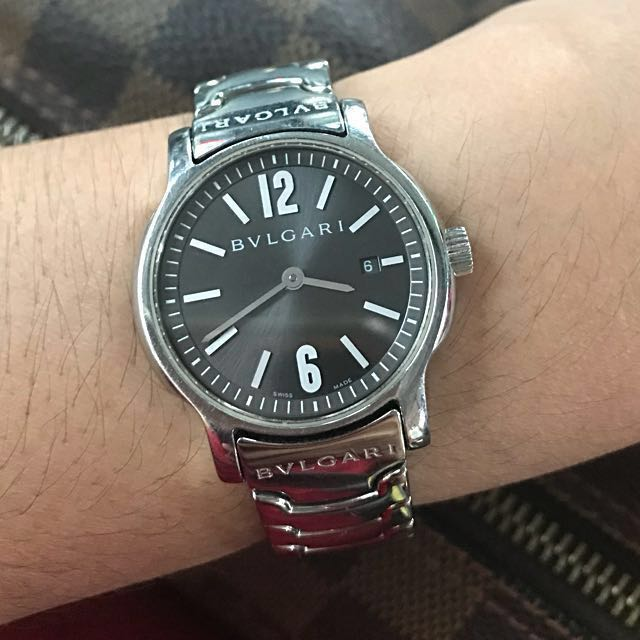 outlet store ec0b5 a4ad5 Authentic Bvlgari Solotempo ST29S Ladies Watch, Luxury ...