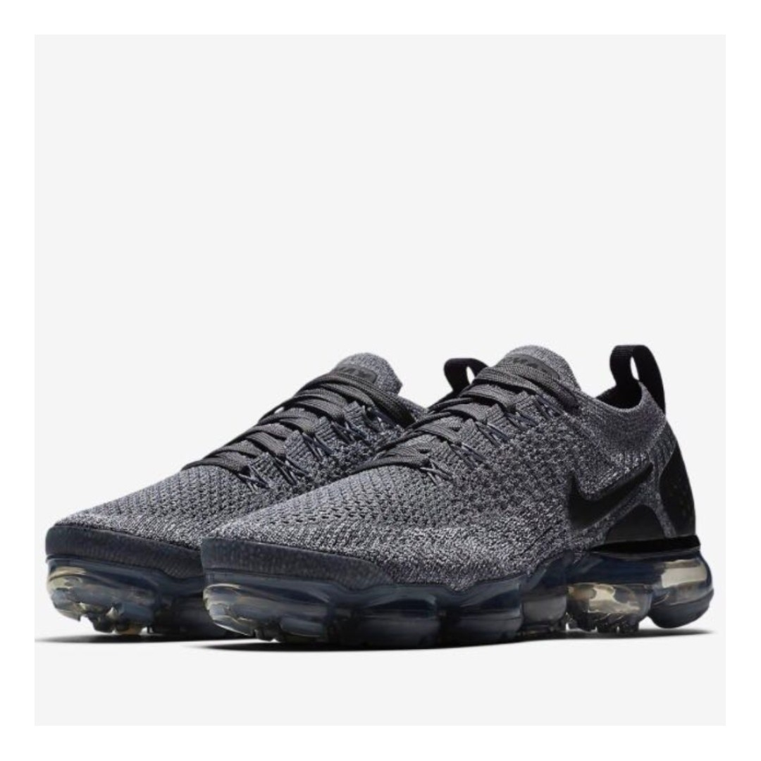 e6411ff2ab06 Authentic Nike Air VaporMax Flyknit 2 Wolf Grey