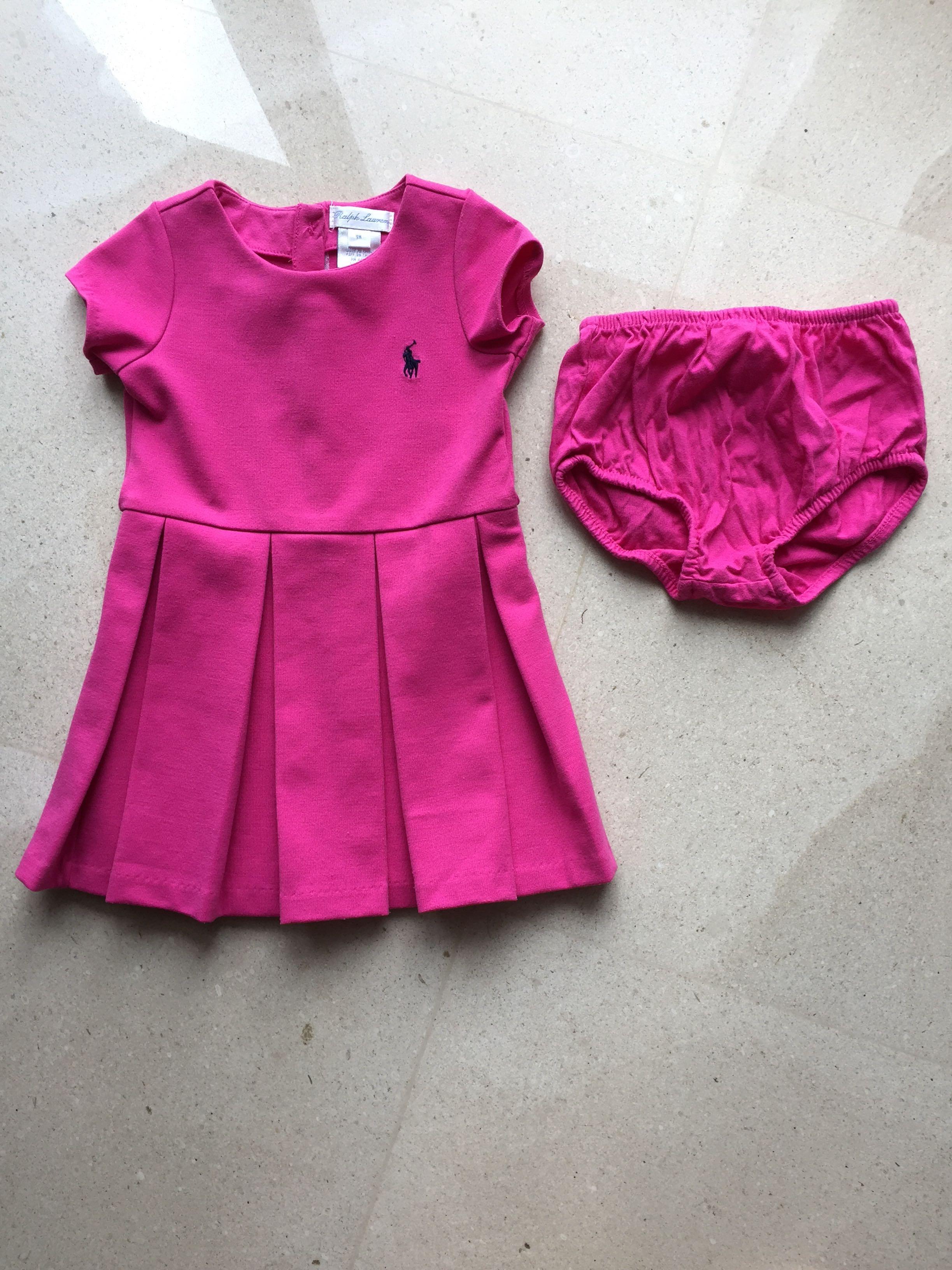 75024c5039 Authentic ralph lauren 9mos baby girl party dress, Babies & Kids ...