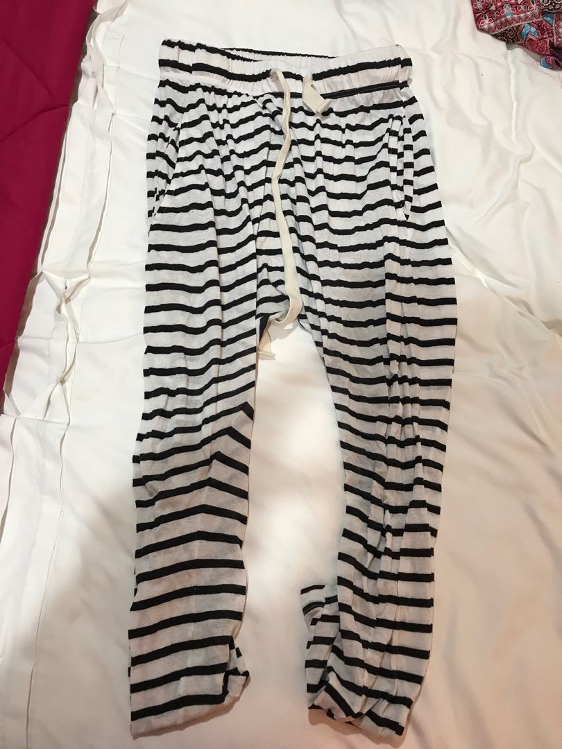 Bassike striped pants