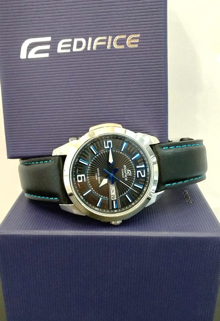 Brand New 100 Authentic Casio Edifice Mens Casual Watch Black Dial