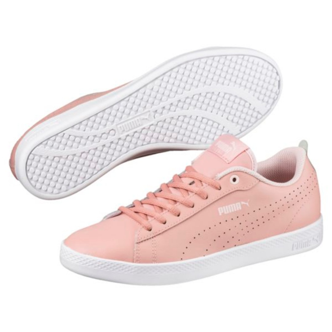 5304822a5cc9 Brand New Authentic Puma Smash V2 L Perf Women s Sneakers(50%off ...