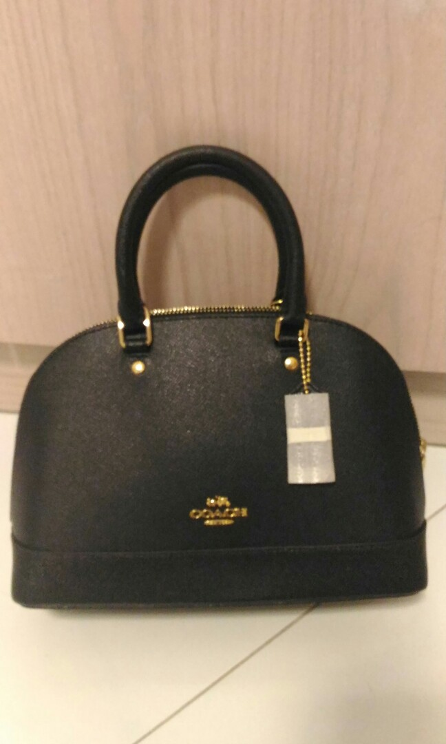 d3eaf79391b13 Reduced price - Coach Mini Sierra Satchel in Crossgrain Leather ...