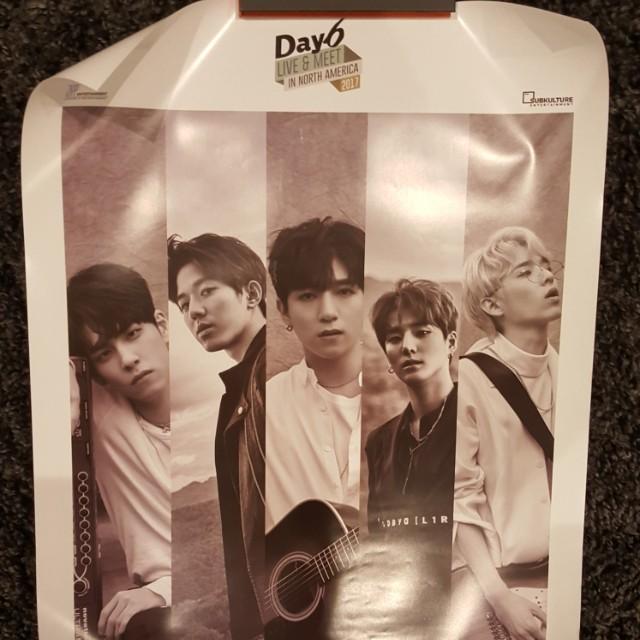 Day6 concert poster kpop