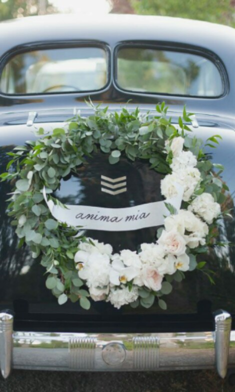 Diy Wedding Car Decor Car Accessories On Carousell