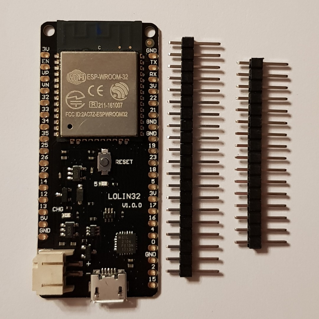 Arduino ESP32 (WiFi/Bluetooth) (32 bit 160Mhz Dual Core Processor