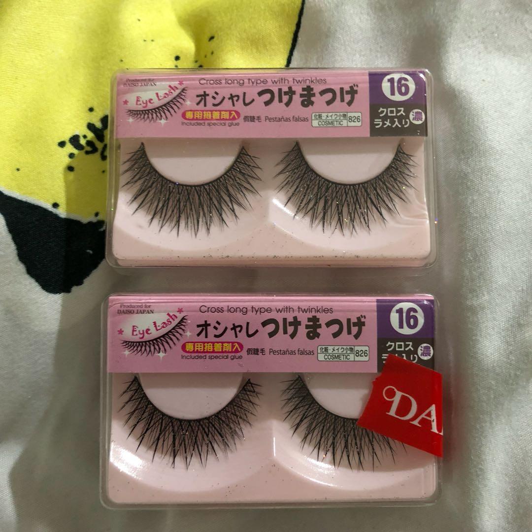 9eb1f80dcc5 Fake Eyelashes, Health & Beauty, Makeup on Carousell