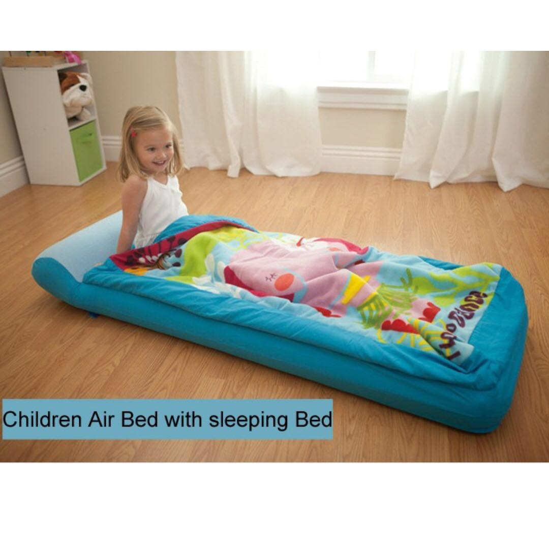 Intex Outdoor Camping Blow Up Mattress Inflatable Kids Baby Child