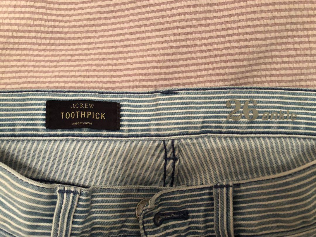 J-Crew toothpick jeans