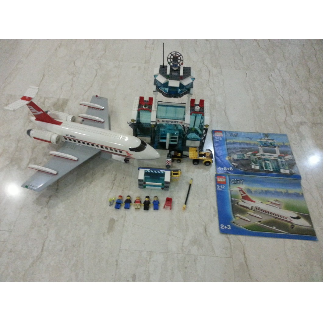 Lego 7894 City Airport Vintage Rare Toys Games Bricks
