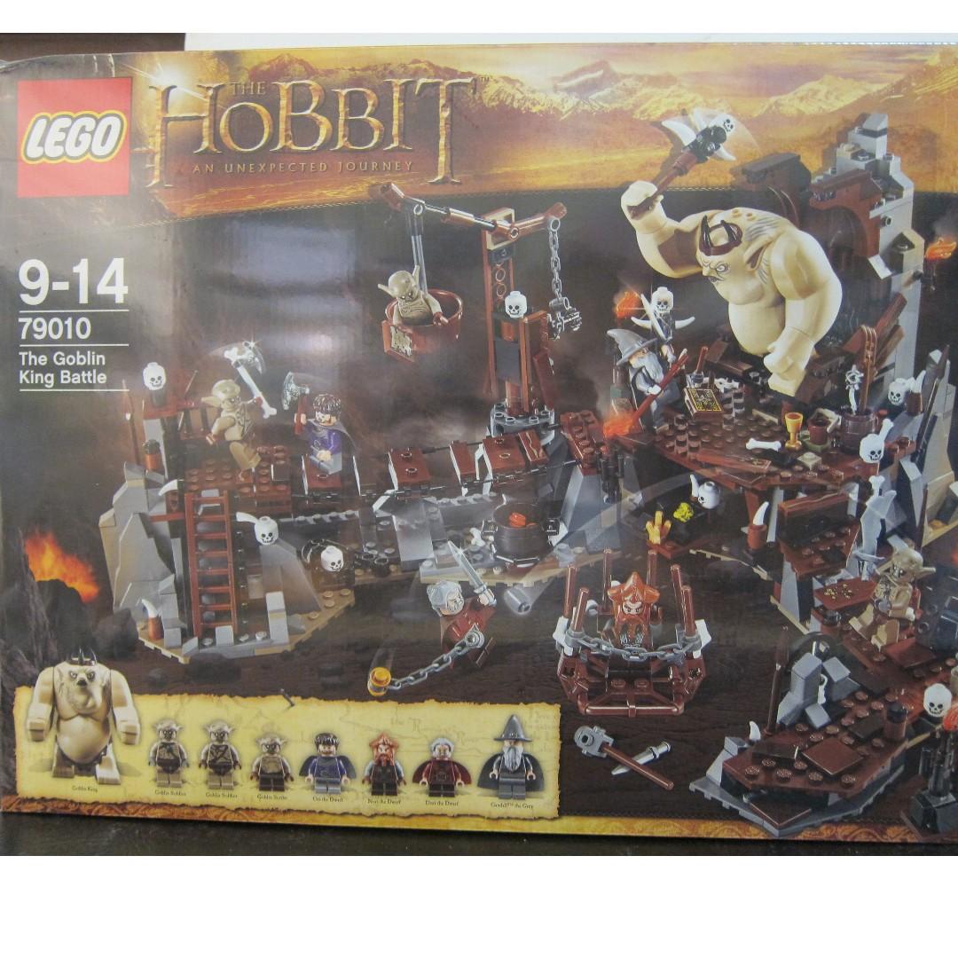 Lego 79010 The Hobbit The Goblin King Battle New /& Sealed