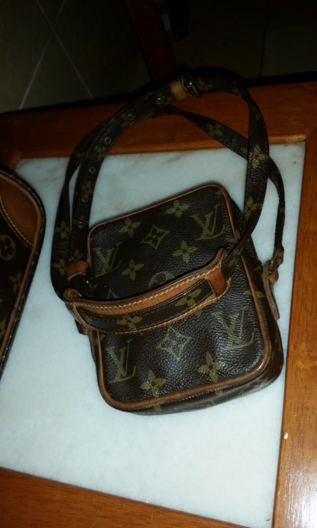 1094c2b40 Louis Vuitton LV small mini danube pochette sling bag, Men's Fashion, Bags  & Wallets, Sling Bags on Carousell