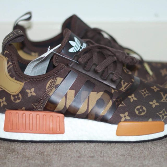 245bb203d Louis Vuitton x supreme x Adidas NMD R1