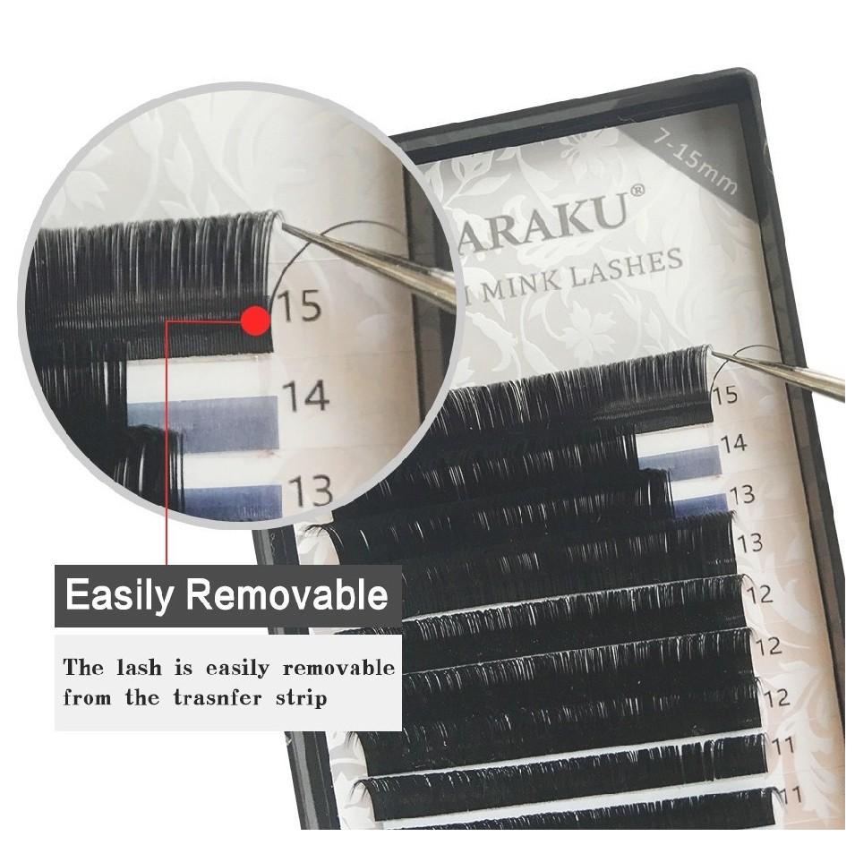 Nagaraku Japanese Premium Mink Eyelash Extensions