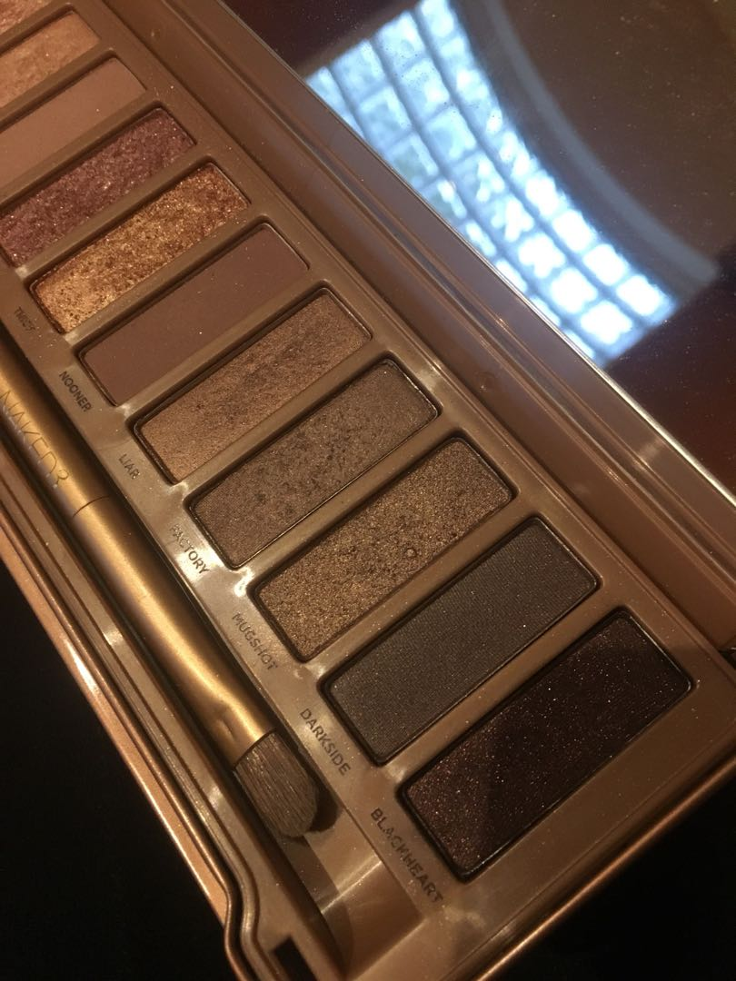 NAKED 3 - URBAN DECAY rose gold Palette (used)