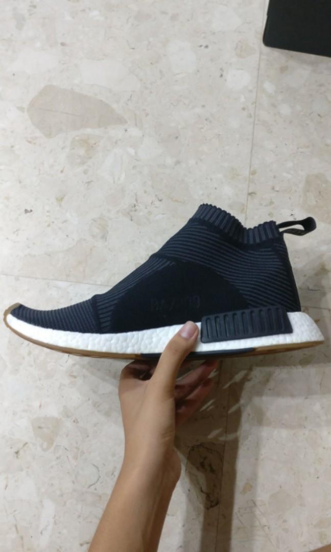 hot sales 4612d aeee7 🔥STEAL🔥 Black NMD City Sock 1