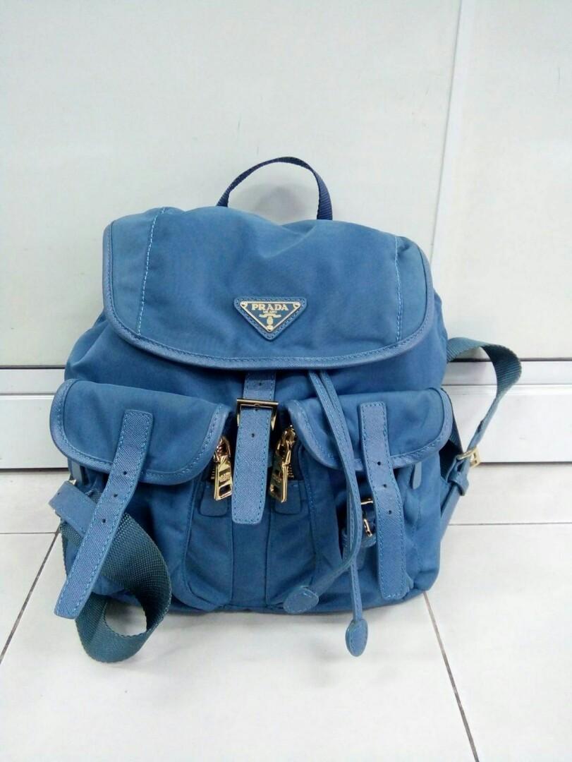 15e2bb35873c Prada Backpack, Women's Fashion, Bags & Wallets on Carousell
