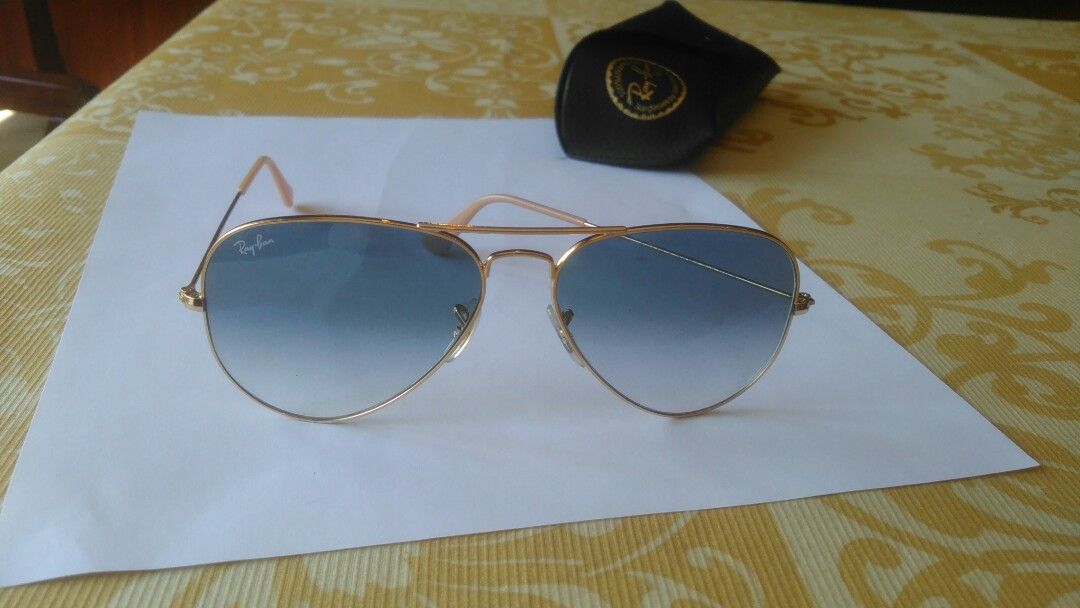 Rb 3025 rayban aviator large metal sunglasses