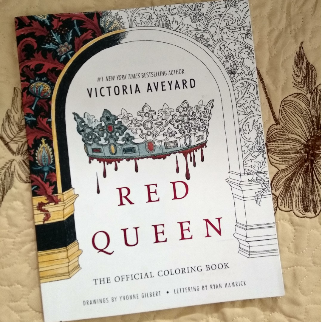 Red Queen The Official Coloring Book By Victoria Aveyard Books