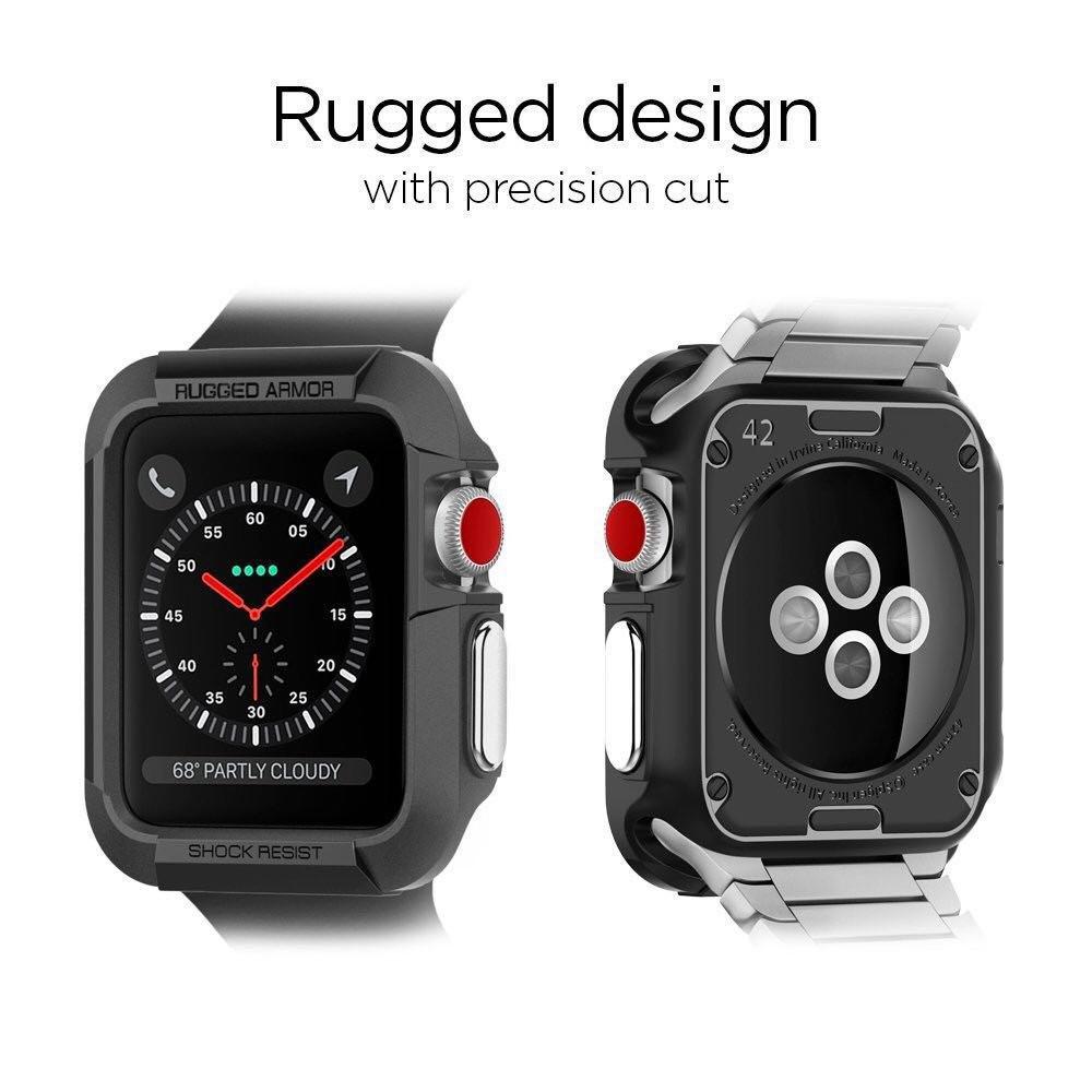 official photos d07cf 94649 Spigen Apple Watch Case Rugged Armor (42mm)