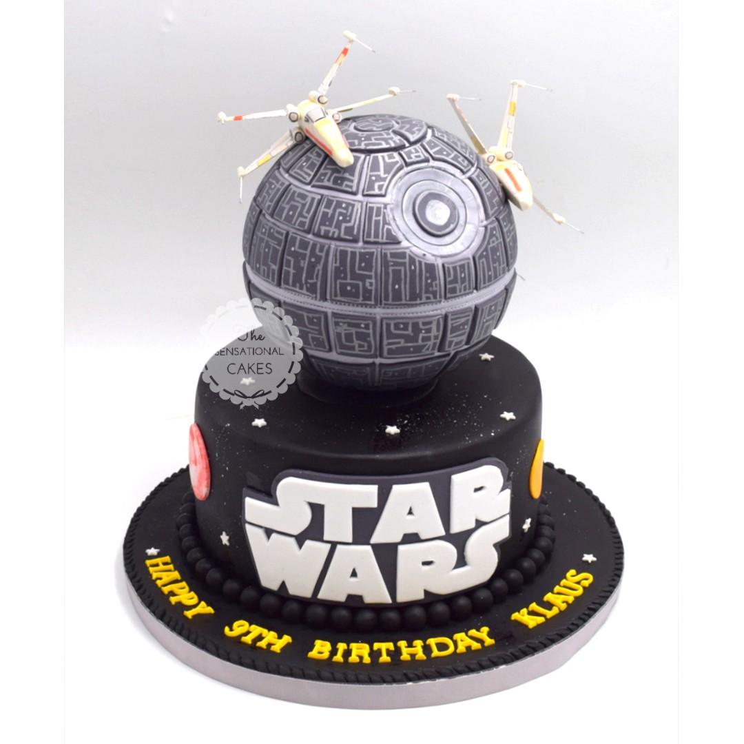 Star Wars Spaceship Theme Cake Singapore Singaporecake Food