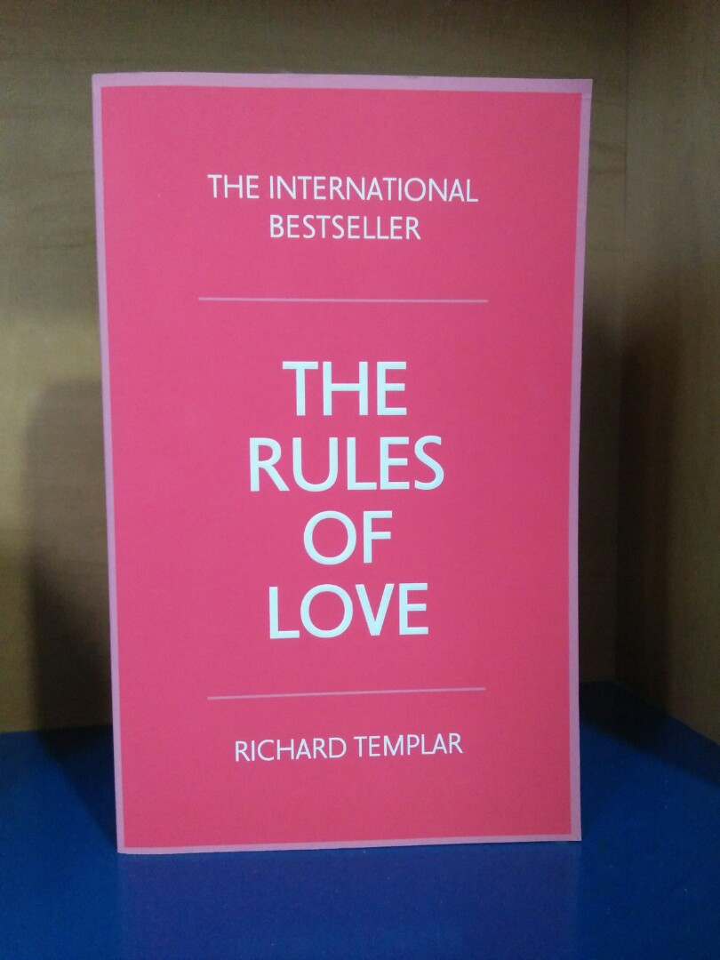 The rules of love rtp 26 richard templar books stationery photo photo photo photo fandeluxe Gallery