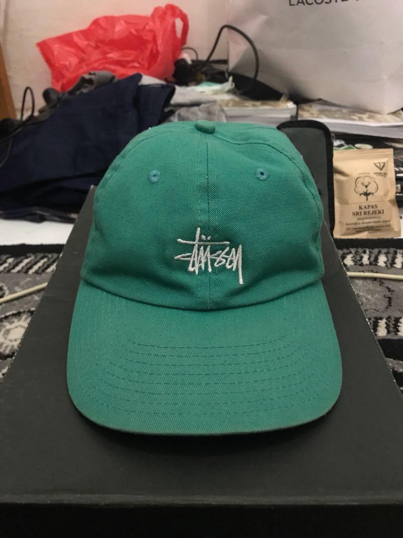 86255ee960fef Topi Stussy Basic Logo Twill Cap Original