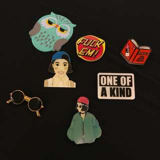 Pin Button Set (New)