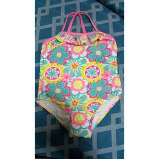 Floral Swimsuit for Baby Girl