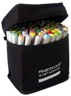 Finecolour markers (72 colors)法卡勒72色馬克筆