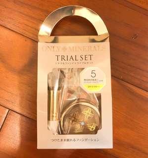 日本Only Minerals Trial Set 天然礦物粉(包郵)