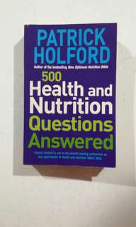 [HEALTH BOOK] 500 Health and Nutrition Questions Answered