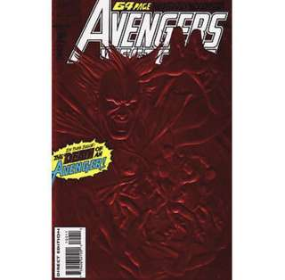 AVENGERS WEST COAST #100 (1993) Double-sized issue! Red foil cover